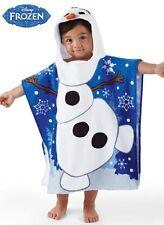 "Disney Frozen Olaf Hooded Towel Poncho 22"" X 22"""