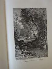 MANGIN (Arthur). Les Jardins.1867. Edition originale