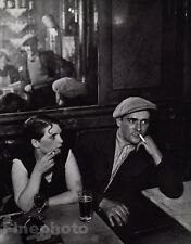 1933/68 Vintage PIMP & GIRL Prostitute Bar Smoking Drink Photo Art 8x10 BRASSAI