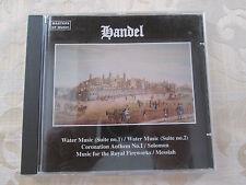 HANDEL - BUDAPEST STRINGS - JOHN LUBBOCK - 1995 DELTA MUSIC LTD DUETCD 082