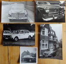 VOLVO CARS inc 120 & 140 Series c1960/70's 5 x REAL PHOTOGRAPHS