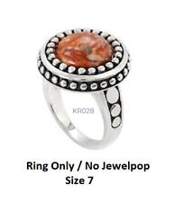 -NEW- Kameleon Antique Ring  KR028 Sterling Silver 7