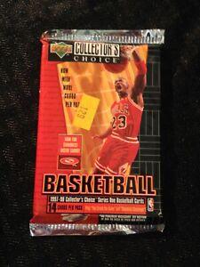 1997-98 Upper Deck Collectors Choice Series One Unopened Pack NBA Lot Jordan 14