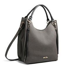 Bag Shoulder Casual Women Handbag Tote Leather Black Fashion Crossbody Slouch