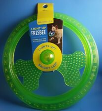 Light Up Bright LED Frisbee ~ The Anytime Dog Toy By Bark Supply☆Free Shipping!☆