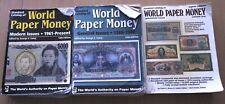 Krause Pick catalogi papiergeld wereld deel 1, 2 & 3 (=complete uitgave) Koopje!