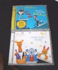 Cat in the Hat CD Lot If I Ran a Zoo & Baby Einstein Lullaby  Toddler -EE0