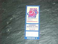 1999 NCAA Tournament Basketball Ticket West Finals UConn v Gonzaga