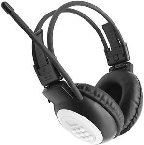 Wireless FM Radio Headphones Portable Ear Muffs Battery Powered Headset Walking