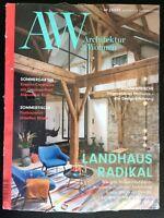 NEU! A&W Architektur & Wohnen – Juni/Juli 3/2018