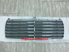 Front Grille Grey Color W/Chrome Fins For '1986-'1992 Mercedes Benz W201 C-Class