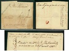 Austria Levant Offices 1782 cover forwarded/disinfected