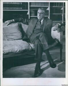 1968 Lord Louis Mountbatten On Saga Of Western Man Abcspecial Tv Photo 7X9