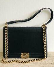 Authentic: back CHANEL Boy Bag (Le Boy Flap Bag - LARGE), 2011