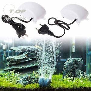 Ultra-Silent Aquarium Air Pump Fish Tank Oxygen Pump Bubble Stone 220V/110V