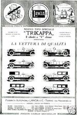 LANCIA-tipo speciale-TRIKAPPA-carburatore-fabbrica-1922