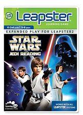 RARE Star Wars Jedi Reading LeapFrog Leapster & Leapster2 Explorer LeapPad Game