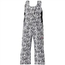 Roxy Girls Minishred Nadia Bib Snowpant (3T) Zebra