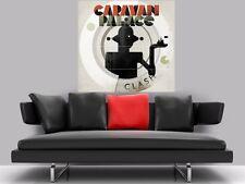 "Caravan Palace sin bordes Mosaico Pared Poster 35"" X 33"" Electro swing"