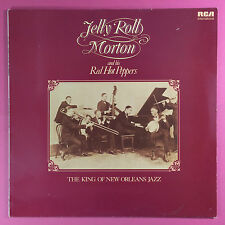 JELLY ROLL MORTON & HIS rouge chaud PEPPERS - THE KING OF NEUF Orleans Jazz