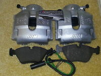 Original Front Brake Calipers, Pads  & Wear Sensor Fits For BMW E46 3 Series M3