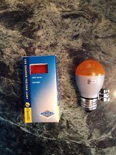 7 Optiled Led Colored Festoon Lamp Amber/Orange/Red NIB