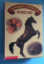 Scholastic Newbery Animals Boxed Set Sounder Rascal King of the Wind Fledgling