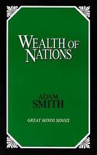 Great Minds: Wealth of Nations by Adam Smith (1991, Paperback, Unabridged)