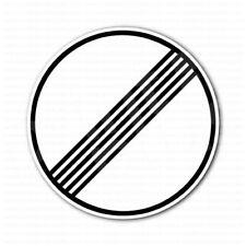 Autobahn No Speed Limit Sign Bumper Sticker