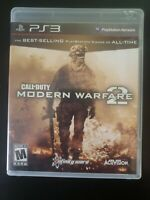 Call of Duty: Modern Warfare 2 PlayStation 3 WITH CASE & MANUAL BUY 2 GET 1 FREE