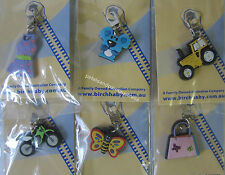 Zipper Pull Up Design Great Accessory For Any Zip On Items, Clothes Or Keyrings
