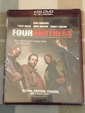Four Brothers HD DVD. Rare. Mark Wahlberg, Tyrese Gibson. New and Sealed