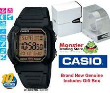 CASIO WATCH W-800HG-9A W800 W800HG 100M 12-MONTH WARRANTY