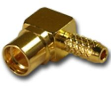 25-309D MMCX  Right Angle Jack For RG-316