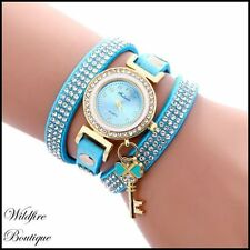Faux Leather Band Women's Quartz (Battery) Wristwatches