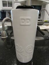 Dunkin' Donuts 16oz Tall Ceramic Relief Tumbler Off-white With Tags