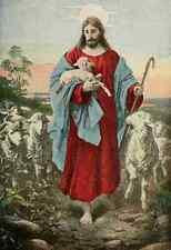A4 Photo Jesus of Nazareth 1917 The Good Shepherd Print Poster