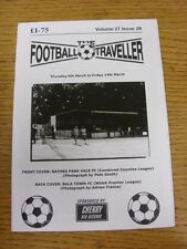 06/03/2014 The Football Traveller Magazine: Vol 27 Issue 28 (Cover Picture: Rayn