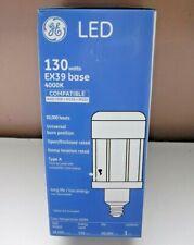GE 130 Watt LED EX39 base 4000K 18,500 lumens Type A Light Bulb New