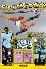 ALBUM FIGURINE PANINI COMPLETO/FULL SUPERMONDIALE URUGUAY-ITALIA 1930-1934