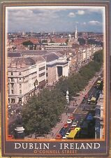Irish Postcard O'CONNELL STREET GPO Dublin Pre-Spire Ireland O'Toole Hinde 2/278