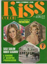 fotoromanzo KISS COLOR ANNO 1979 NUMERO 18 SADLOW GLIGOROV