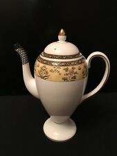 Wedgwood - India Pattern - Coffee Pot - Brand New Never Used
