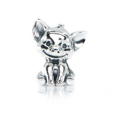 33625268c Cute Lucky Pig Sterling Silver Charm Bead, Piggy Piglet Animal Charm  Jewellery