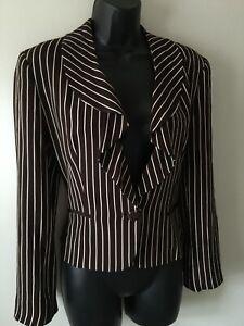 RALPH LAUREN COLLECTION Silk blazer Size 4 UK 8/10