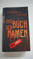 Gregory & Tintori - Das Buch Der Namen