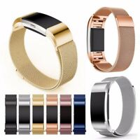 Milanese Loop Bracelet Wrist Band Strap For Fitbit Charge 2 HR Replacement Band