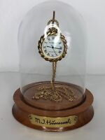 Hummel Vintage Working Pocket Watch/Necklace w/ Stand and Dome