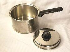 New listing Vintage Lifetime 3 Quart Sauce Pan/Pot 18-8 Stainless Steel Lid Doed Not Fit