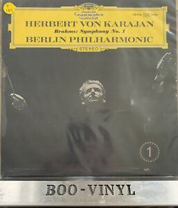 DG VINYL RECORD Johannes Brahms - Symphonie Nr. 1 C-Moll Op. 68